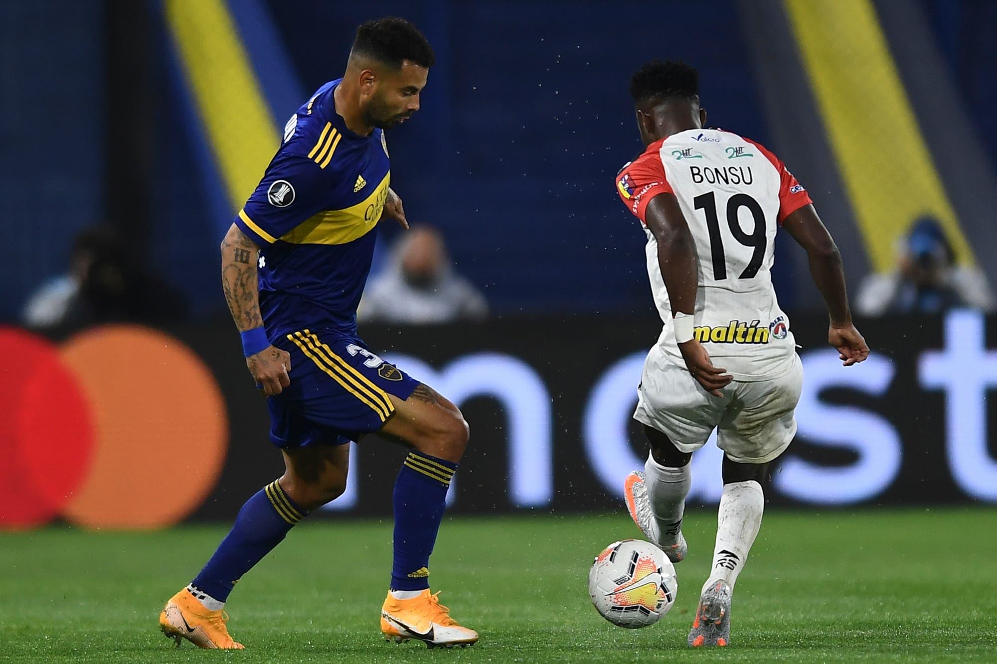 Inter-Boca: horario, TV y formaciones del partido de octavos de final de la Copa Libertadores