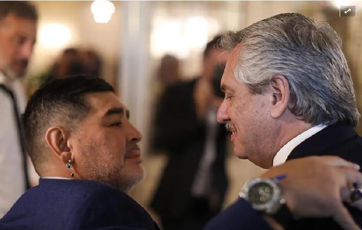 Murió Maradona: Alberto Fernández decretó tres días de duelo nacional y suspendió su agenda hasta el viernes