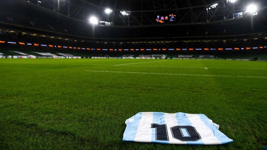 Llegó el turno del fútbol argentino: así será el homenaje a Diego Armando Maradona