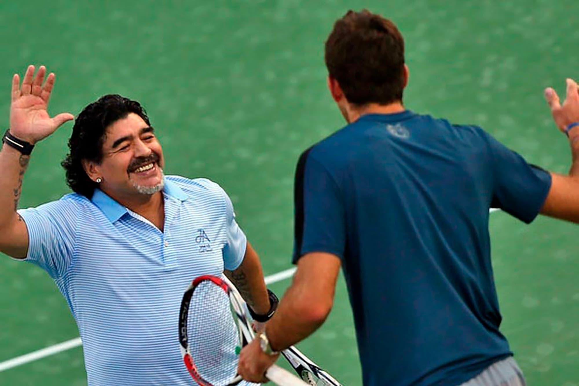 """Juan Martín del Potro, entre la despedida a Maradona y el sueño de volver: """"Me gustaría estar en los próximos Juegos Olímpicos"""""""