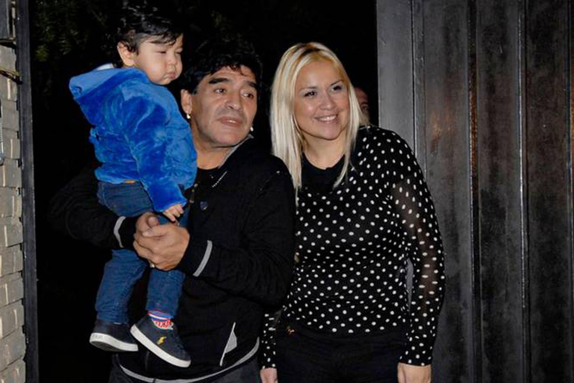 La muerte de Maradona: el último audio y un pedido especial de Diego para la pareja de Verónica Ojeda