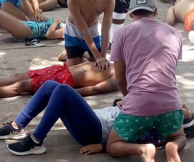 "Se dictó capacitación ""Salvamento acuático"" en San Pedro con activa participación"