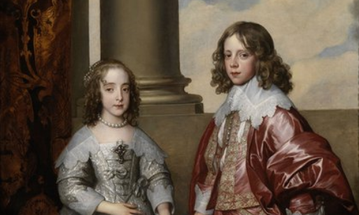 """La belleza del día: """"Guillermo II, príncipe de Orange, y su novia María Enriqueta Estuardo"""", de Anton van Dyck"""