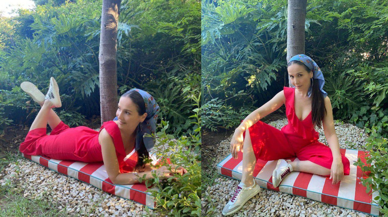 """Natalia Oreiro tuvo un incidente """"con suerte"""" en plena sesión de fotos"""
