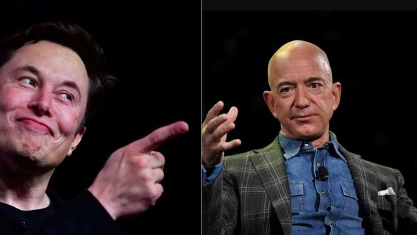 "guerra-declarada-entre-los-dos-hombres-mas-ricos-del-mundo:-elon-musk-le-dijo-""titiritero""-a-jeff-bezos"