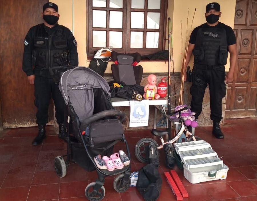 la-policia-recupero-varios-objetos-sustraidos