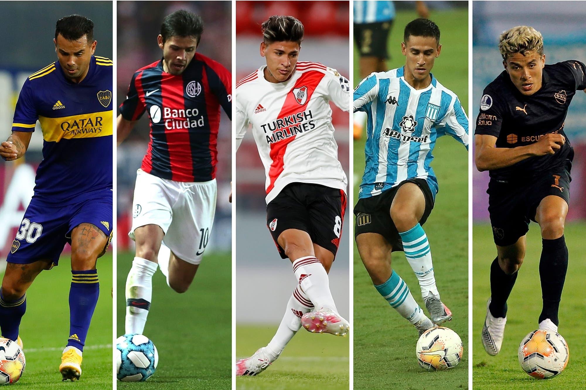la-crisis-de-los-no-10:-¿que-pasa-con-los-enganches-argentinos-en-la-liga-profesional-2021?