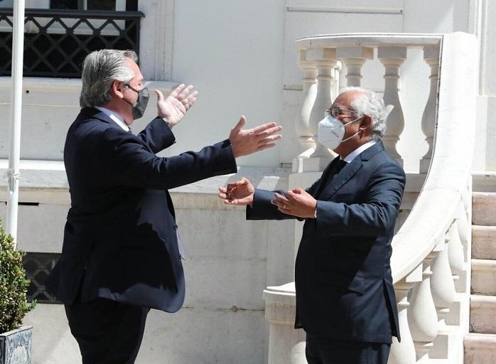 alberto-fernandez-consiguio-el-apoyo-de-portugal-para-negociar-la-deuda:-«vamos-a-sensibilizar-al-fmi»