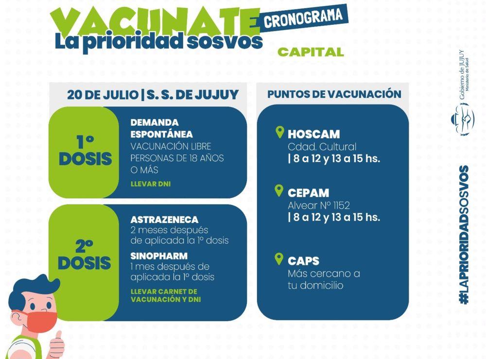cronograma-de-vacunacion-para-el-20-de-julio-en-capital
