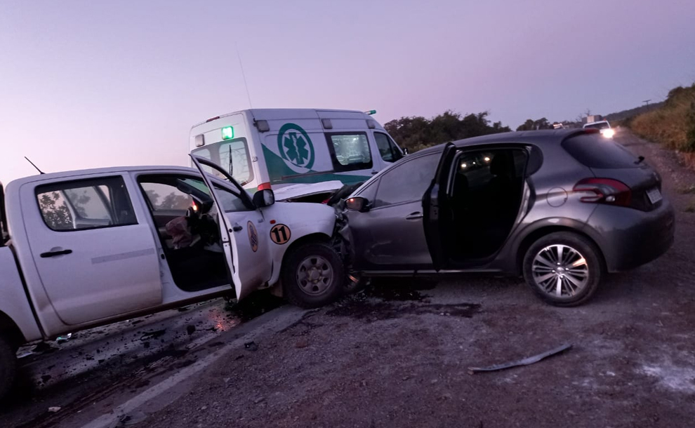 ruta-34-:-cuatro-personas-resultaron-heridas-tras-el-choque-frontal-entre-un-automovil-y-una-camioneta