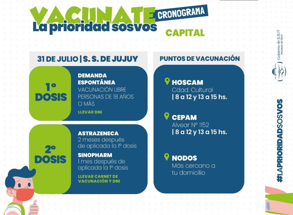 cronograma-de-vacunacion-para-el-31-de-julio-en-capital