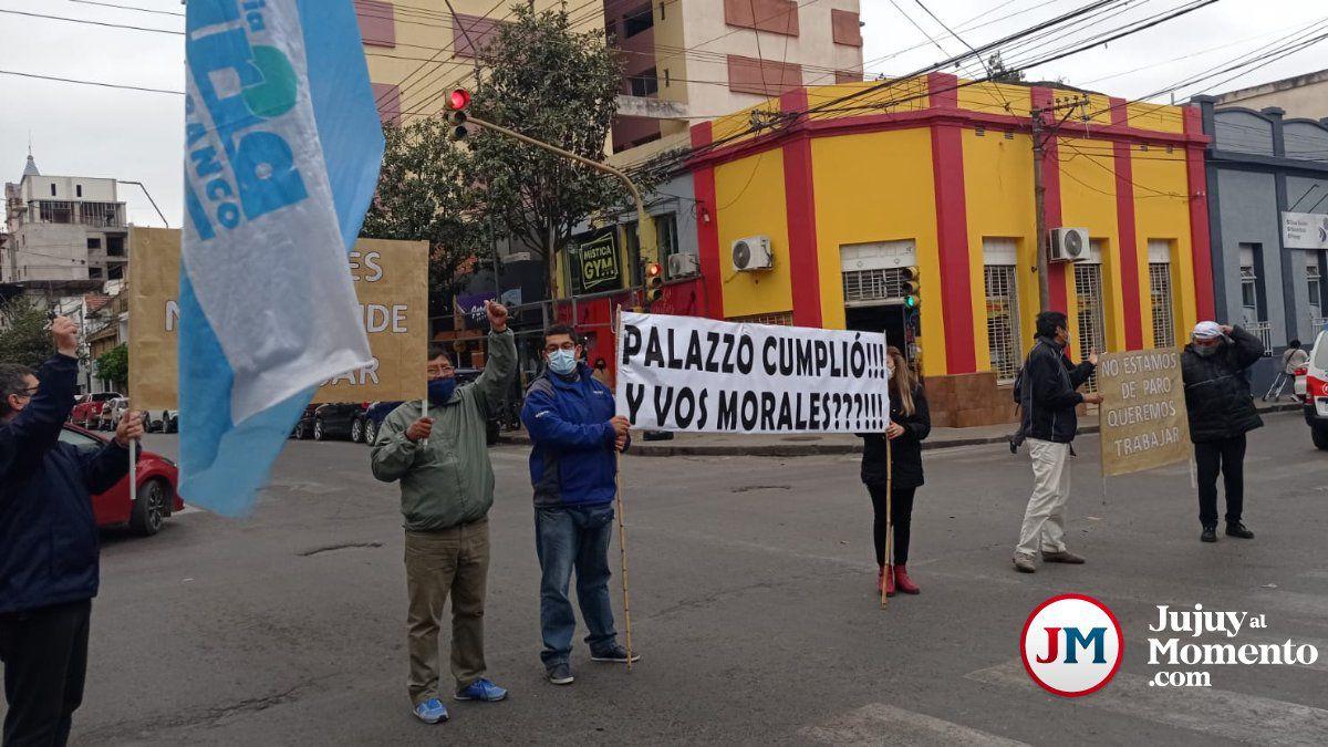 """""""no-estamos-de-paro,-queremos-trabajar"""",-bancarios-indignados-volvieron-a-protestar"""