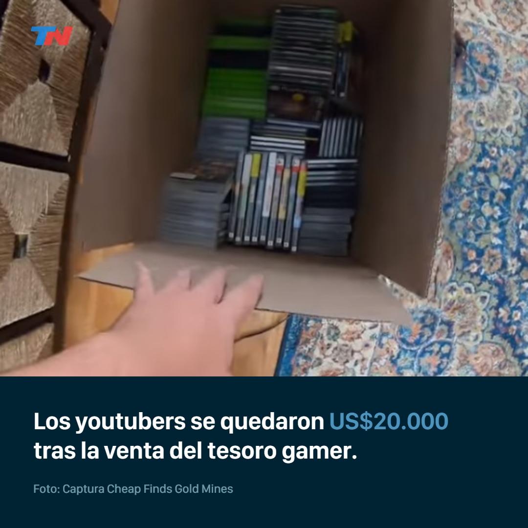 dos-youtubers-encontraron-un-tesoro-de-videojuegos-valuado-en-100-mil-dolares
